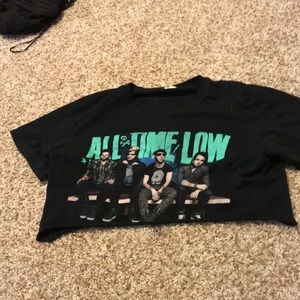 Tops - all time low crop top